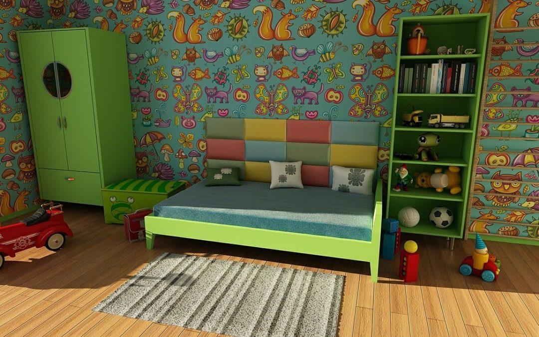 Skab et børneværelse med funktionalitet og farver